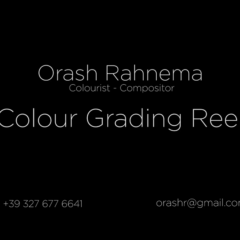 COLOUR SHOW REEL 2015